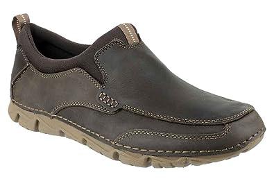 Mens Rockport V76951 Rocsport Lite 2 Slip On Shoes Textile