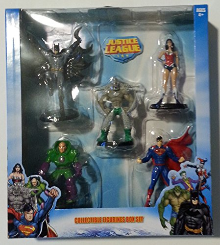 justice+league Products : Justice League Collectible Figurines - 5 piece