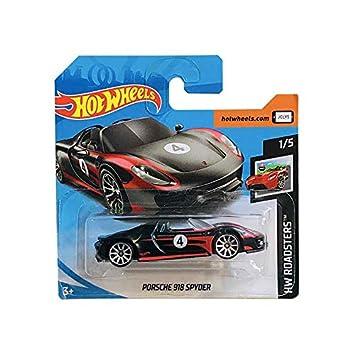 Mattel cars Hot Wheels Porsche 918 Syder HW Roadsters 94//250 2019 Short Card