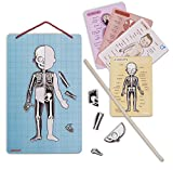 Janod Magnetic Body Puzzle Human Anatomy and