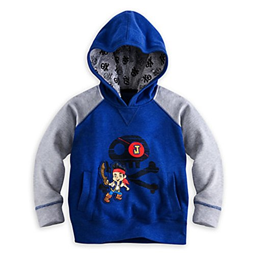 Disney Store Jake and the Never Land Pirates Pullover Hoodie Size XS 4 4T]()