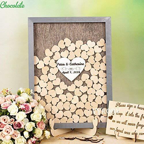 - Guestbook MarthaFox Shadow Box Wedding Guest Book Wedding Heart Wood Sign for Wedding Decor Rustic Bridal Shower Book Drop Box Guest Book Alternative N635117