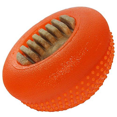 Starmark Everlasting Bento Ball, Orange, Large ()