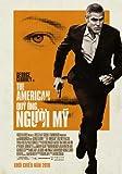 The American Movie Poster (27 x 40 Inches - 69cm x 102cm) (2010) Vietnamese Style B -(George Clooney)(Bruce Altman)(Thekla Reuten)(Irina Björklund)(Violante Placido)(Samuli Vauramo)