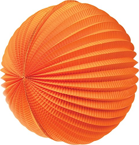Luna-Bazaar-Accordion-Paper-Lantern-12-Inch-Mango-Orange-ChineseJapanese-Hanging-Decorations-For-Home-Decor-Parties-and-Weddings