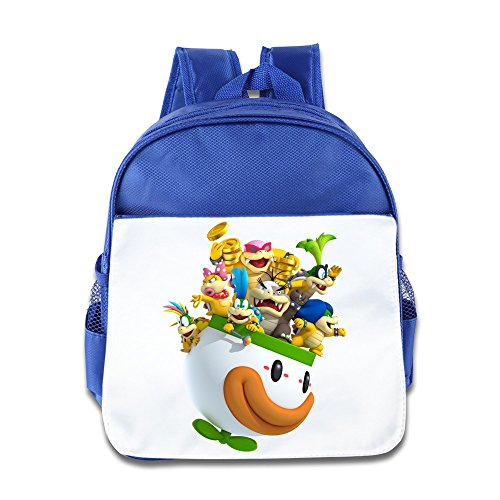 bowser-jr-girls-and-boys-kids-backpacks-geek-sports-school-bags-royalblue-size-one-size