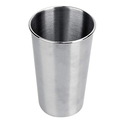 SMARTRICH Taza de Pintura de Acero Inoxidable, Vasos de Agua de Grado alimenticio de Acero Inoxidable de 350 ML de Cerveza, para Actividades al Aire ...