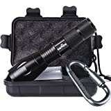 #1: Tactical Portable LED Flashlight 1000 Lumens with 5 Modes