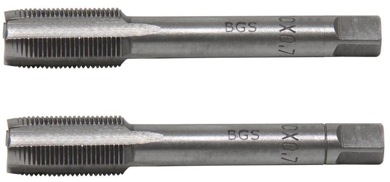 Kit de 2 lots de tarauds et filiè res BGS-taps, 1900-M10X0.75-B