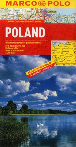 Poland Marco Polo Map (Marco Polo Maps)