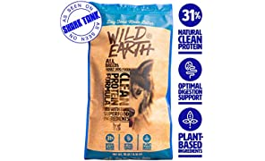 Wild Earth Vegan High Protein Formula Dry Dog Food (18-lb)