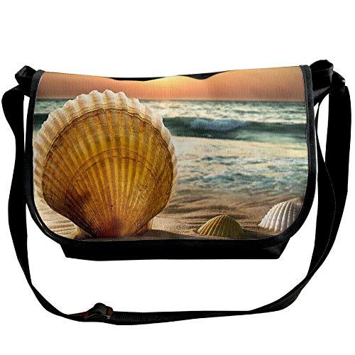 Bags Fashion Cross Versipacks Casual Designer Body Sunset Handbag Seashell Black Women's Bags XEwIa0