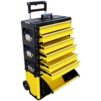 AS-S 305/3B1D - Caja De Herramientas con carro, tamaño XXL, de metal: Amazon.es: Amazon.es