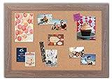 Framed Cork Board with Montauk Driftwood Frame