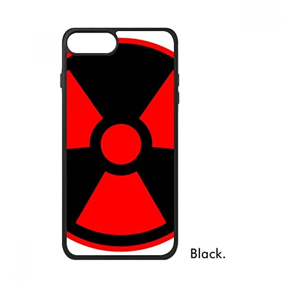 Amazon Red Dangerous Chemical Toxic Radiation Symbol For Iphone