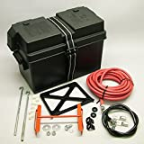 Speed G1200A Battery Relocation Kit Trunk Mount Battery Kit w/Cables