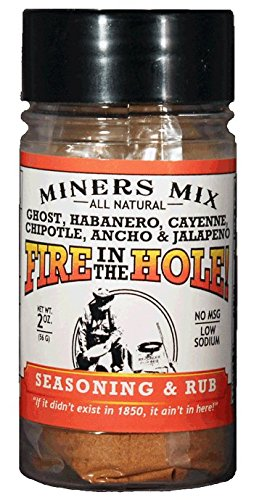 soning Rub with Ghost or Bhut Jolokia, Habanero, Jalapeno, Chipotle, Ancho, and Cayenne Plus a Boatload of Other Spices. 2017 Hot Pepper Award Winner. 2 oz jar ()