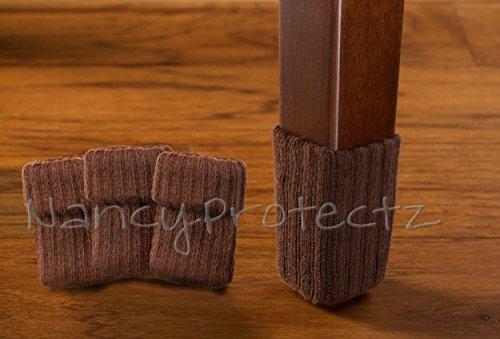 24pcs Polyester Furniture Socks/ Chair Leg Floor Protector