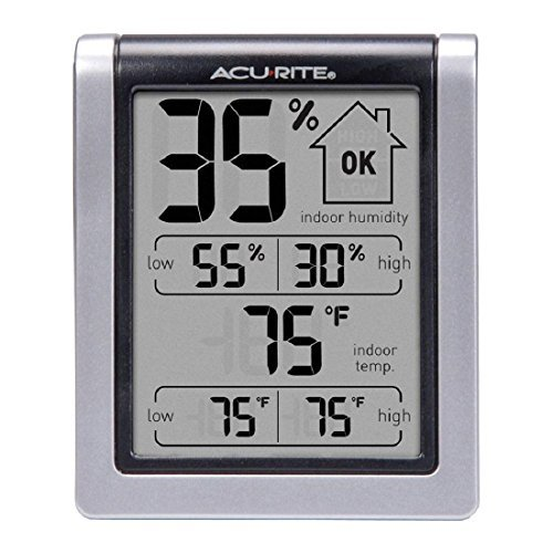 ACU RITE 00613A1 Indoor Humidity Monitor, New, Free Shipping by AcuRite by AcuRite