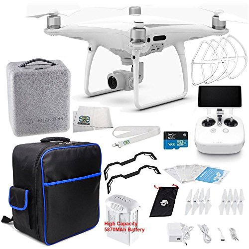 DJI Phantom 4 PRO+ Plus Quadcopter Starters On-The-Go Bundle