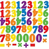 RoomMates RMK1280SCS Primary Numbers Peel and Stick Wall Decals