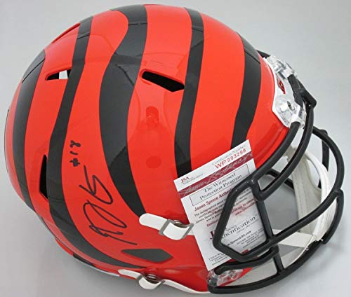 (Bengals Aj Green Autographed Full Size Replica Speed Helmet Signed - Pro Bowler - JSA)
