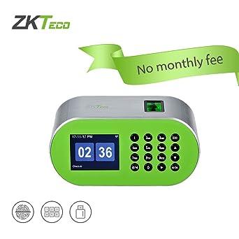 ZKTeco CT10 Terminal de tiempo y asistencia para escritorios con reconocimiento de huella