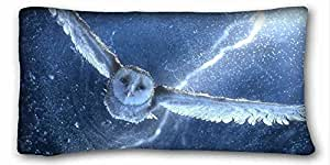 Custom Characteristic Animal Custom Cotton & Polyester Soft Rectangle Pillow Case Cover 20x36 inches (One Side) suitable for Full-bed
