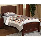 Twin Bed in Wood Finish by Poundex