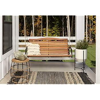 Amazon.com: Furinno Tioman - Columpio y soporte de madera ...