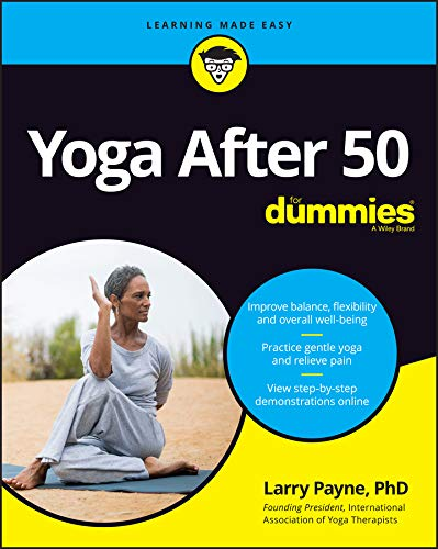 Book Cover: Yoga After 50 For Dummies