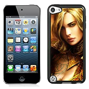 iPod Touch 5th case,Guild Wars Eye Of The Dorth Girl Face Chest Look iPod Touch 5th Generation cover