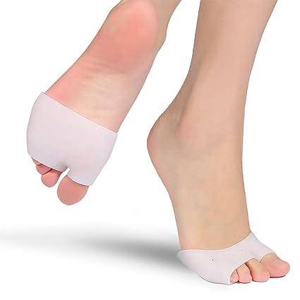 Yosoo Almohadillas para juanetes gel de 2 pares de almohadillas para pies Plantillas para los pies