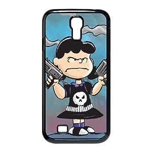 Lucy Van Pelt funda Samsung Galaxy S4 9500 caja funda del teléfono celular del teléfono celular negro cubierta de la caja funda EEECBCAAJ15404