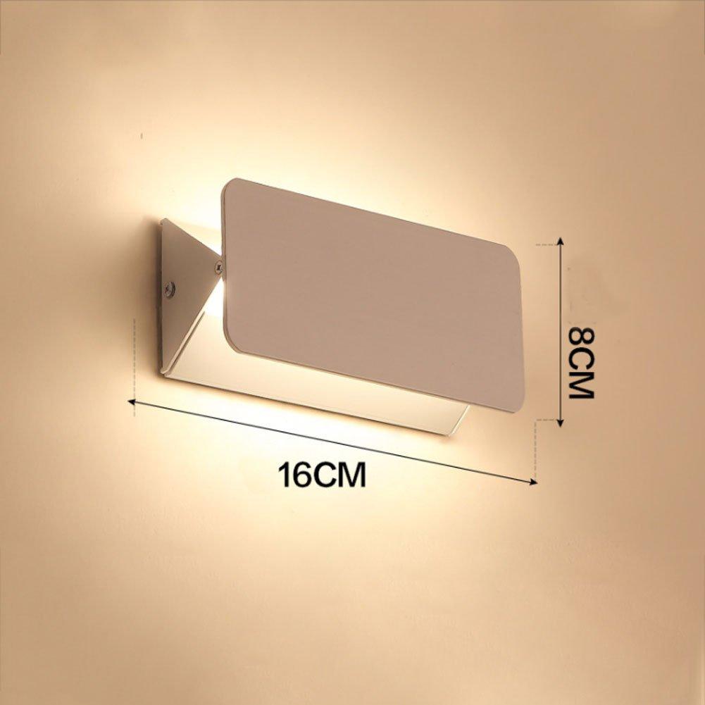 16x8cm Xiao Mi Guo Ji Badezimmer-Eitelkeits-LED beleuchtet -8W Bad-Wandleuchten, die modernen Licht-Spiegel-Frontscheinwerfer-Front-Eitelkeits-Licht-Spiegel-Frontscheinwerfer-180 ° -Rotation spiegeln Spiegel