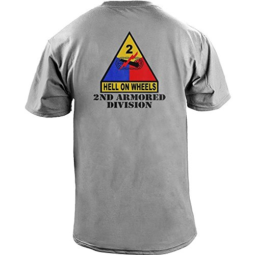 Army 2nd Armored Division Full Color Veteran T-Shirt