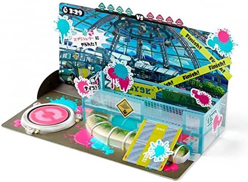 Diorama Kit for amiibo Splatoon Mozuku Nouen Farm Series Nintendo Wii U / 3DS