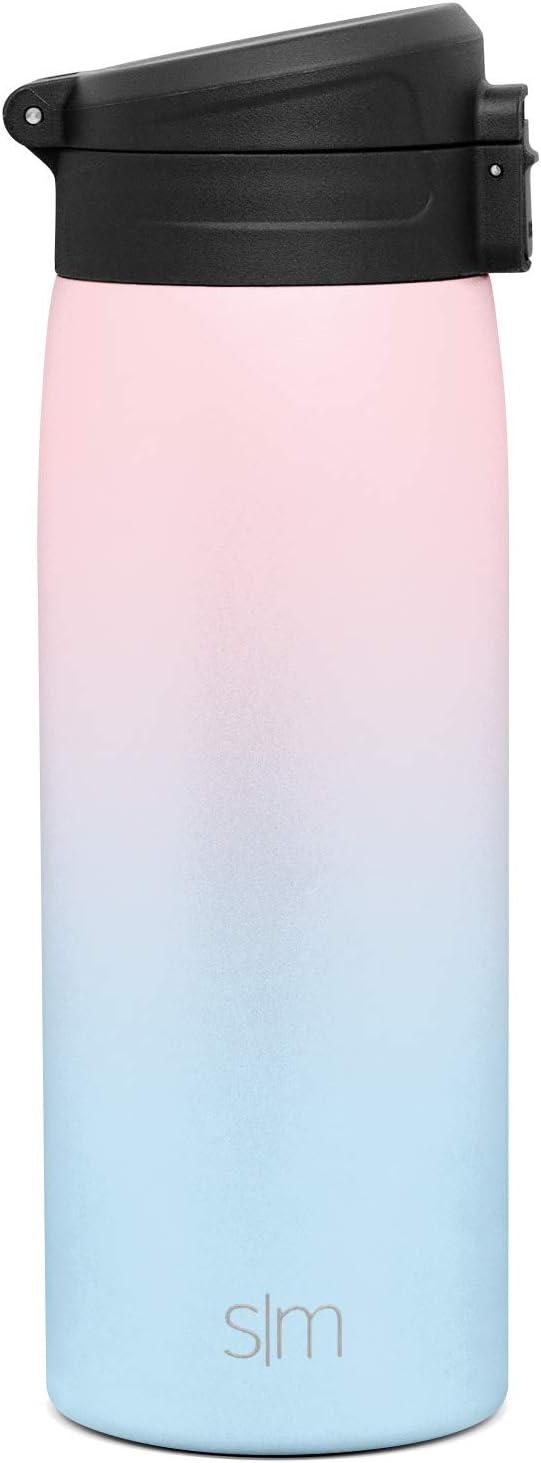 16oz Simple Modern Kona 470mL Termo Taza con Cerradura Vaso Termico Caf/é para Llevar Acero Inoxidable Prueba de Fugas Hydro Botella Agua Regalos para Mujer u Hombre -Invierno
