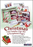 ScrapSMART - Christmas Family Fun Clip Art and Scrapbook Pages Software - 416 Designs and 340 Templates [Download]