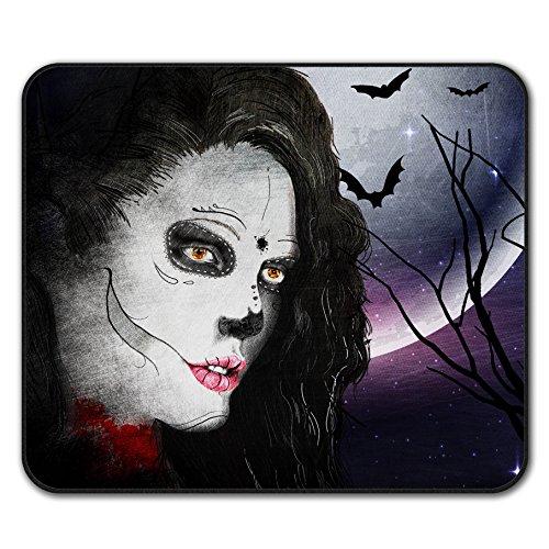 [Beautiful Make Up Girl Vampire Non-Slip Mouse Mat Pad 10