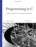 Programming in C, Stephen G. Kochan, 0672326663