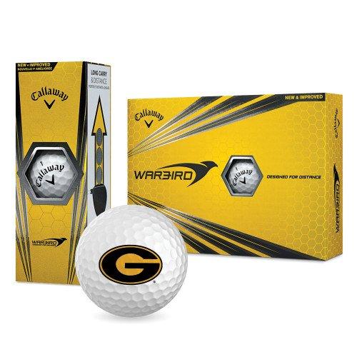 Grambling State Callaway Warbird Golf Balls 12/pkg 'Official Logo' by CollegeFanGear