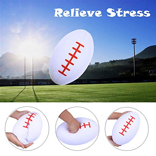 Vovomay Jumbo Super Giant Soft Football Slow Rising Squeeze Relieve Stress Toy ()