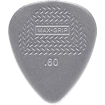 Dunlop 449P.60 Max-Grip Nylon Standard, Light Gray, .60mm, 12/Player's Pack