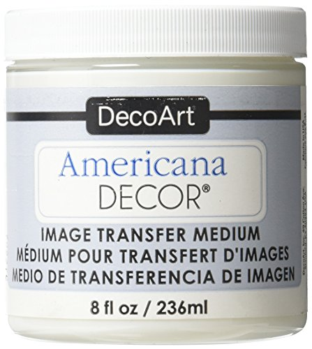 (Deco Art Image Transfer Medium Paint, 8-Ounce, Clear)