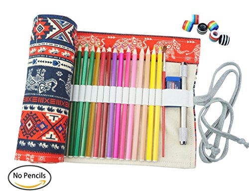 CreooGo Canvas Roll Pencil Pouch product image