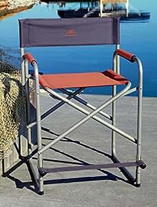 ALPS Extra-Wide Director's Chair (Orange)