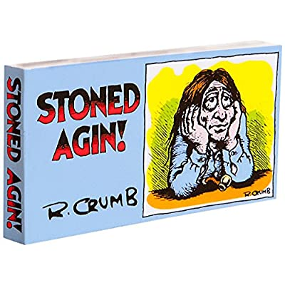 Fliptomania R. Crumb Flipbook - Stoned Agin!: Toys & Games