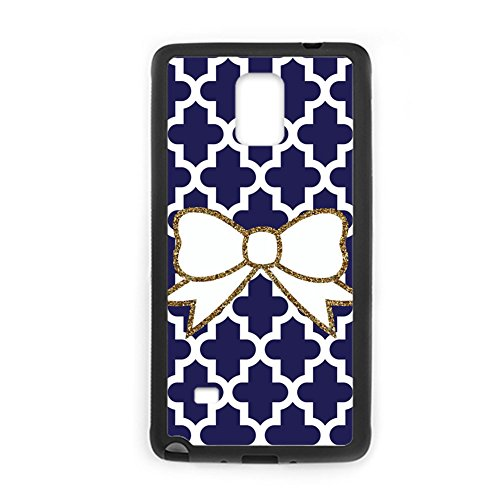 Tyboo Silicone Phone Case For Boys Printed Bow Bowknot For Galaxy Note 4 Unique