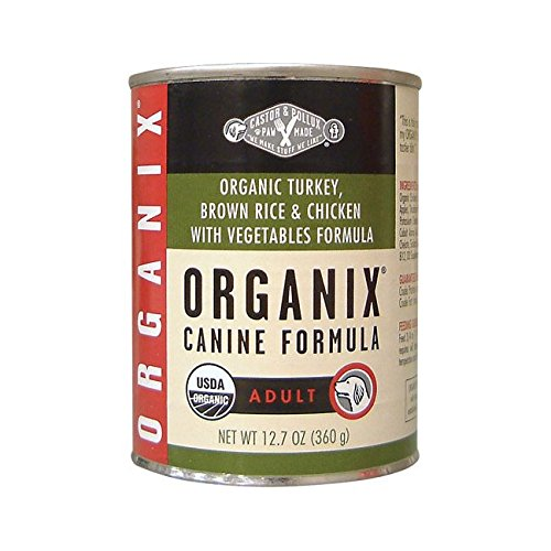 Castor & Pollux Organix Dog Formula Turkey and Vegetable - 12.7 oz